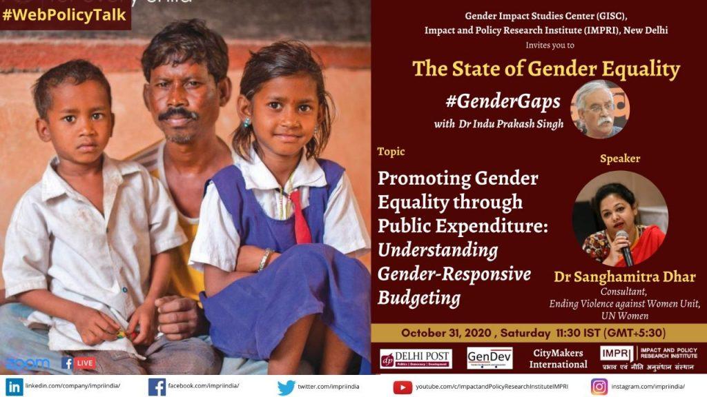 Promoting Gender Equality through Public Expenditure: Understanding Gender-Responsive Budgeting
