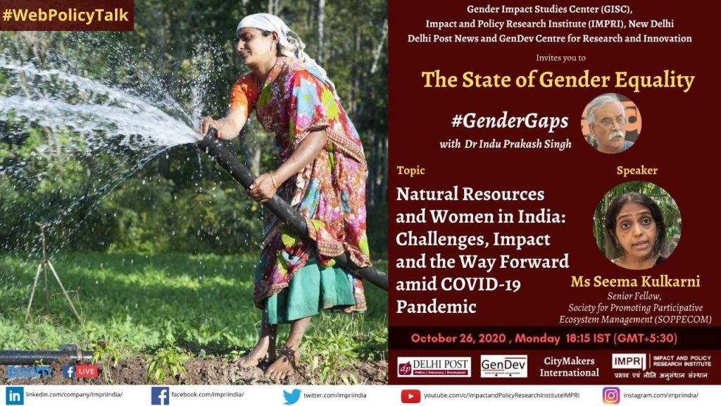 Natural Resources and Women in India: Challenges, Impact and the Way Forward amid COVID-19 Pandemic