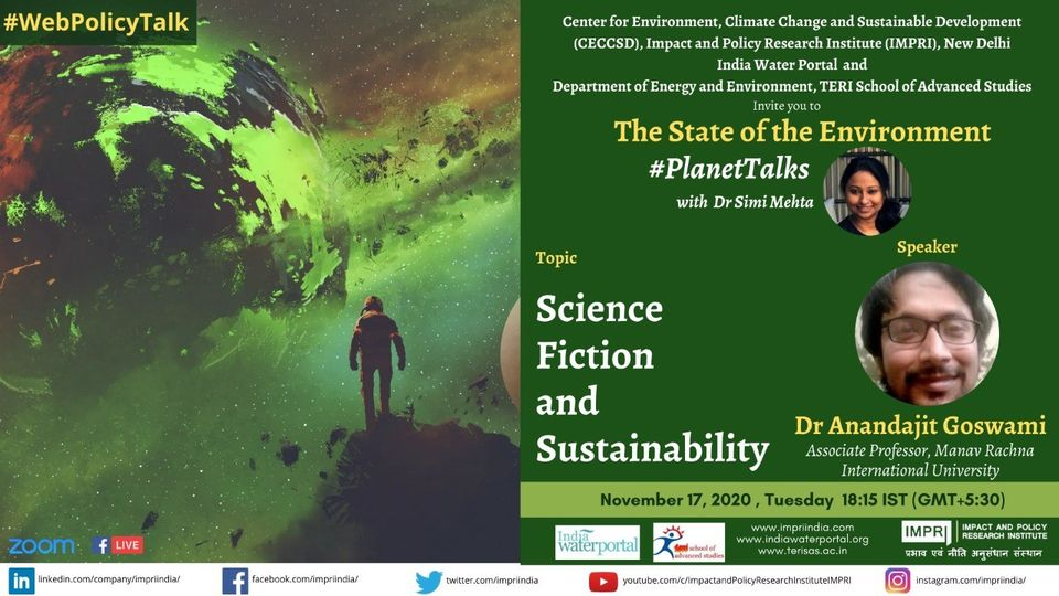 Anandajit Goswami_Science Fiction and Sustainability