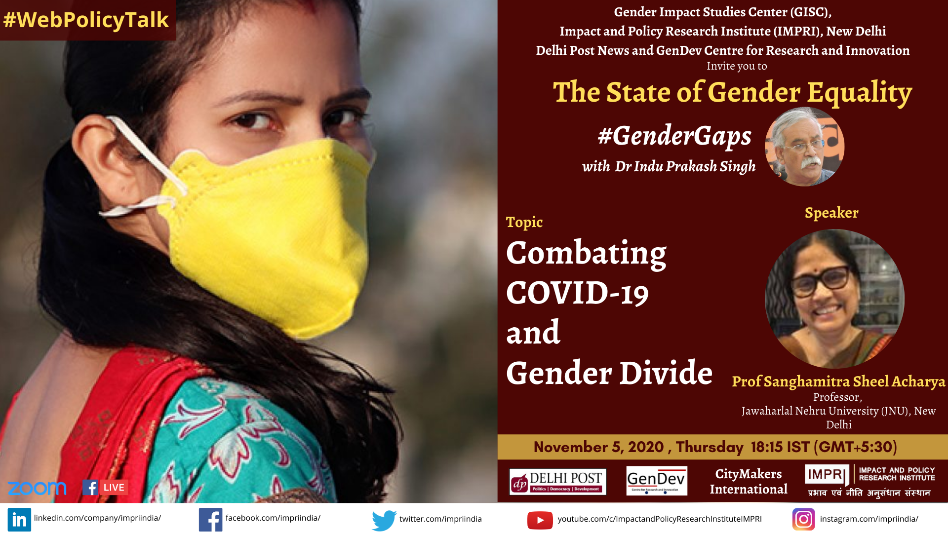 Combating COVID 19 and Gender Divide