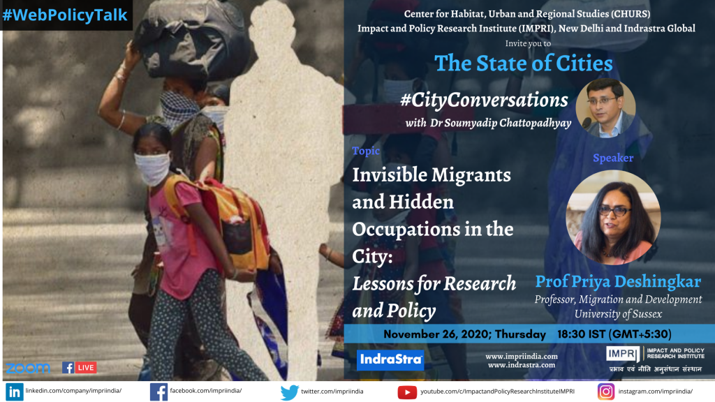Priya Deshingkar_ Invisible Migrants and Hidden Occupations in the City_ Lessons for Research and Policy