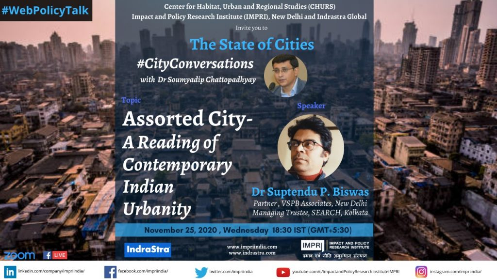 Suptendu Biswas _ Assorted City- A Reading of Contemporary Indian Urbanity