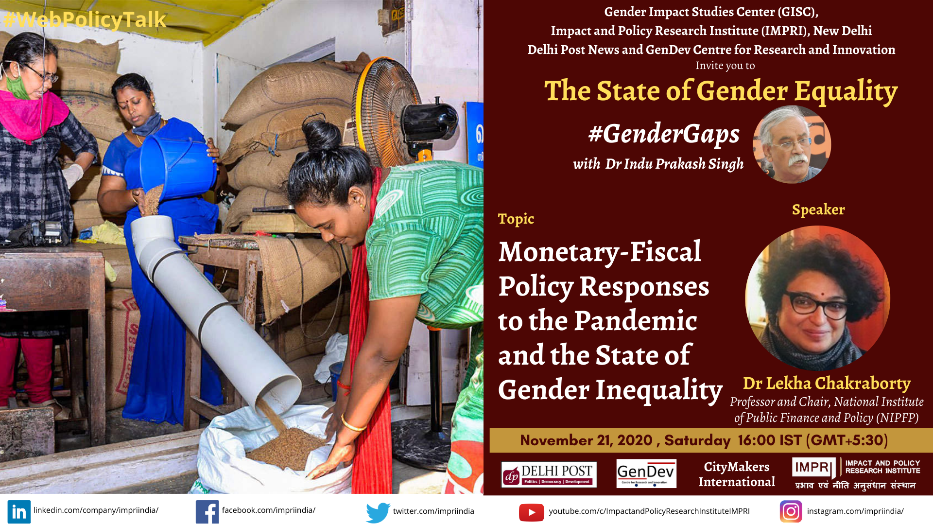 lekha chakraborty Monetary Fiscal Policy Responses to the Pandemic and the State of Gender Inequality 1