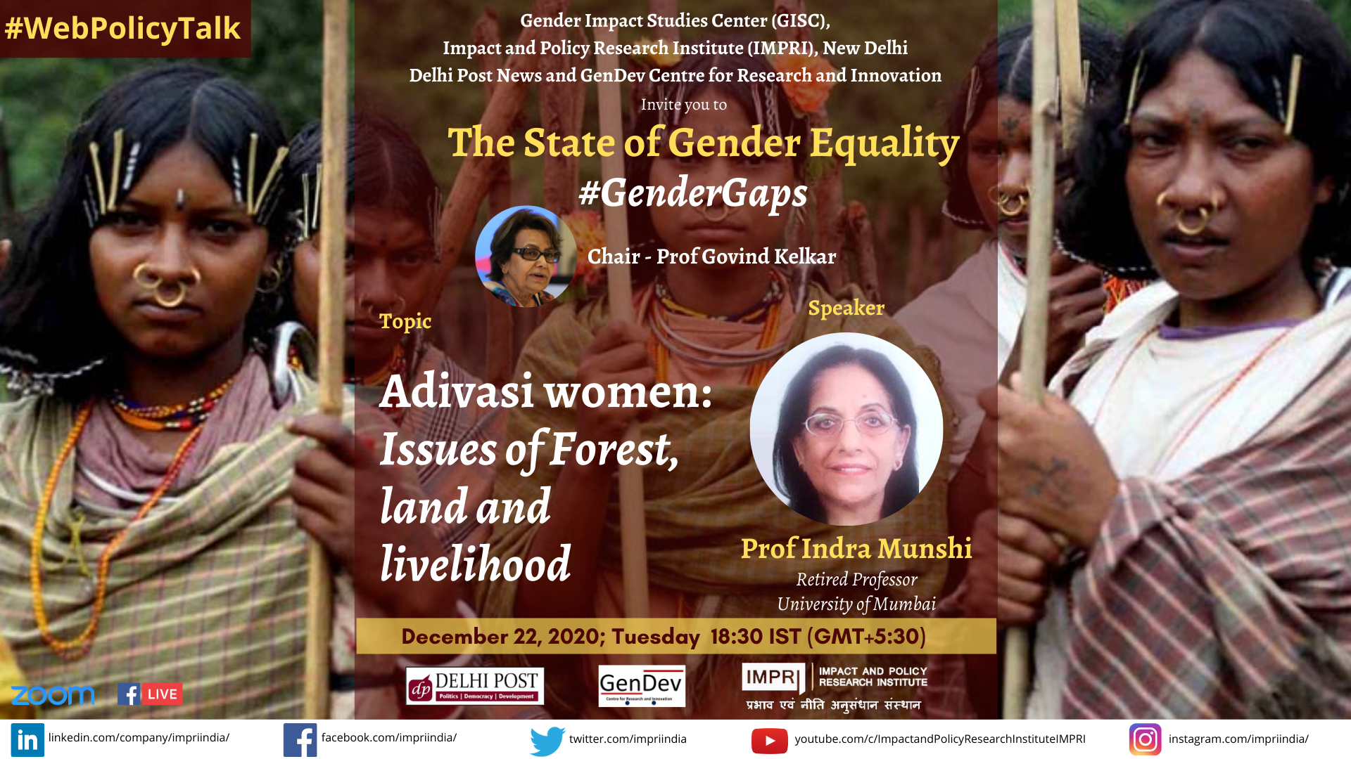Indra Munshi Adivasi women Issues of Forest land and livelihood 1