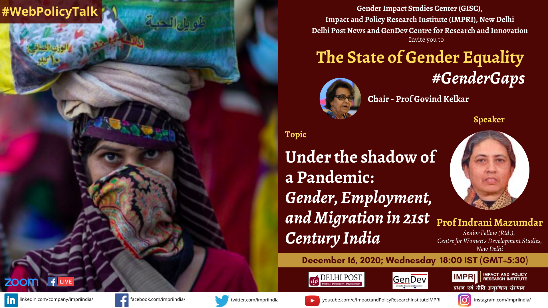 Indrani mazumdar Under the shadow of a Pandemic Gender Employment and Migration in 21st Century India 1