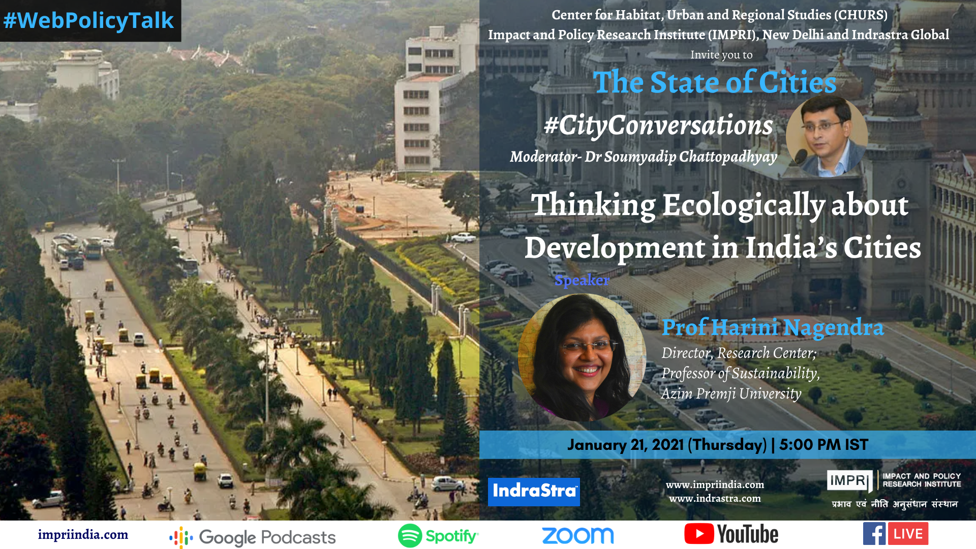 Thinking Ecologically about Development in India's Cities