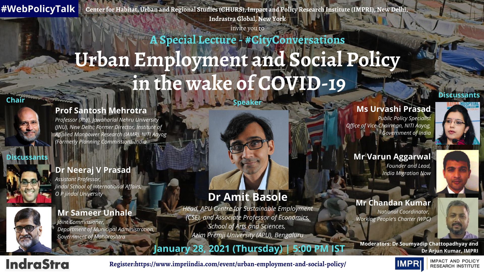 Urban employment and social policy in the wake of Covid-19