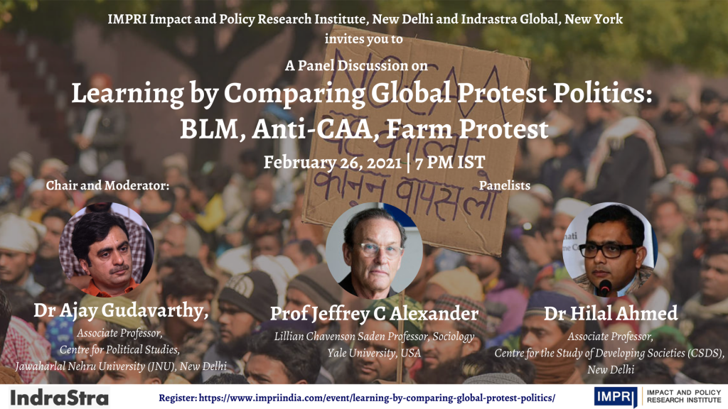 Learning by Comparing Global Protest Politics_ BLM, Anti-CAA, Farm Protest