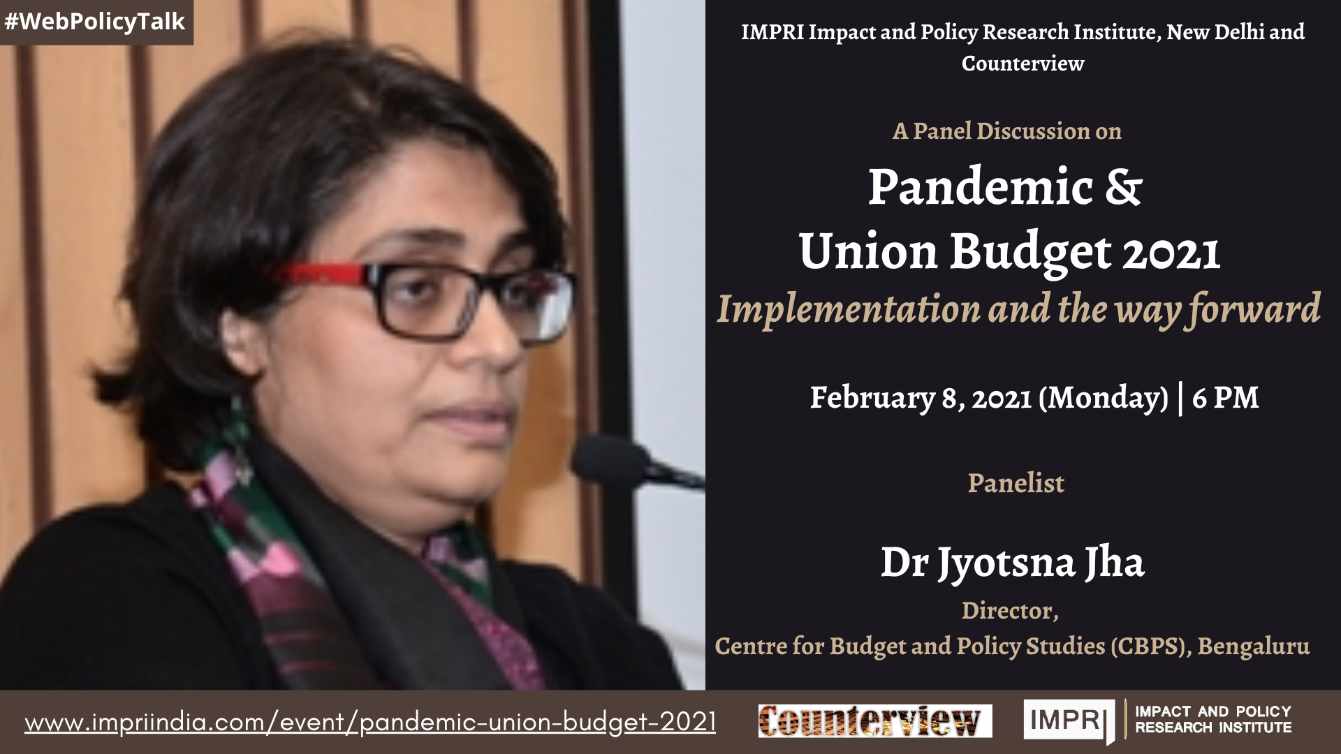 Pandemic & Union Budget 2021: Implementation and the way forward