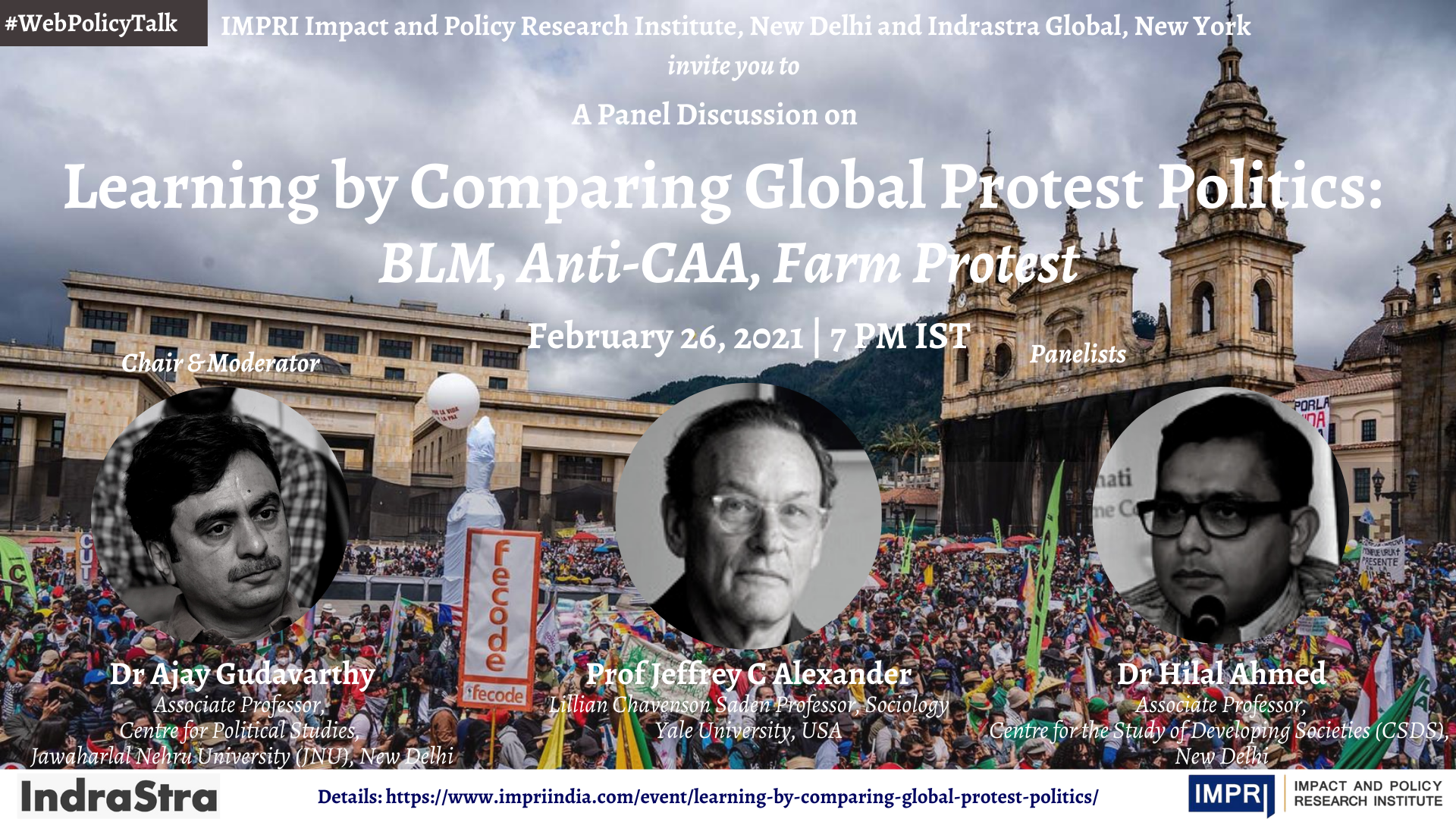 Learning by Comparing Global Protest Politics: BLM, Anti-CAA, Farm Protest