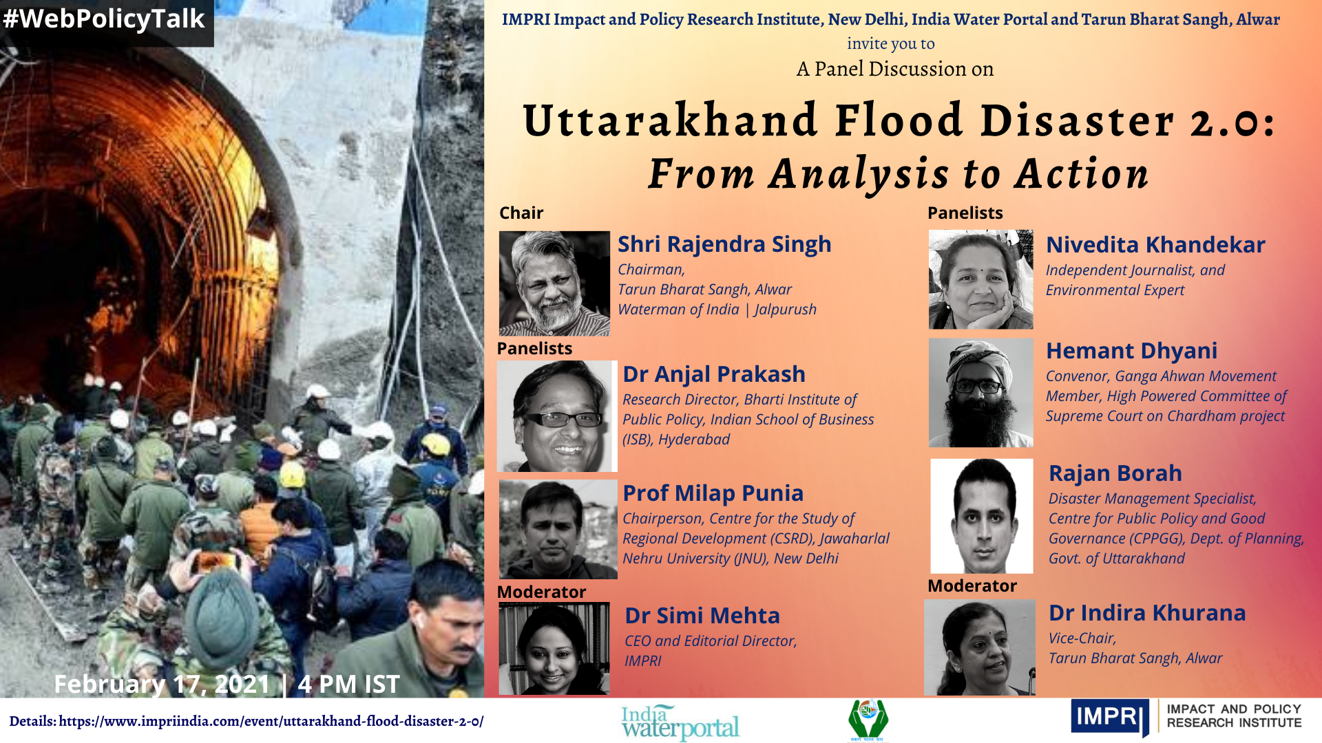 Uttarakhand Flood Disaster 2.0: From Analysis to Action
