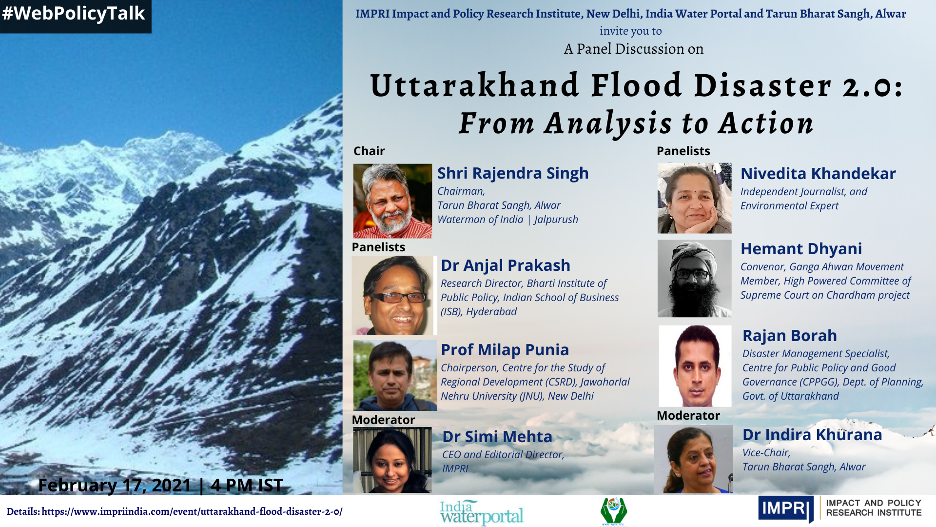 Uttarakhand Flood Disaster 2.0: From Analysis to Action