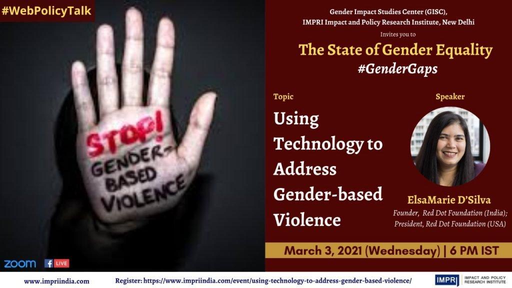 ElsaMarie_Using Technology to address Gender based violence