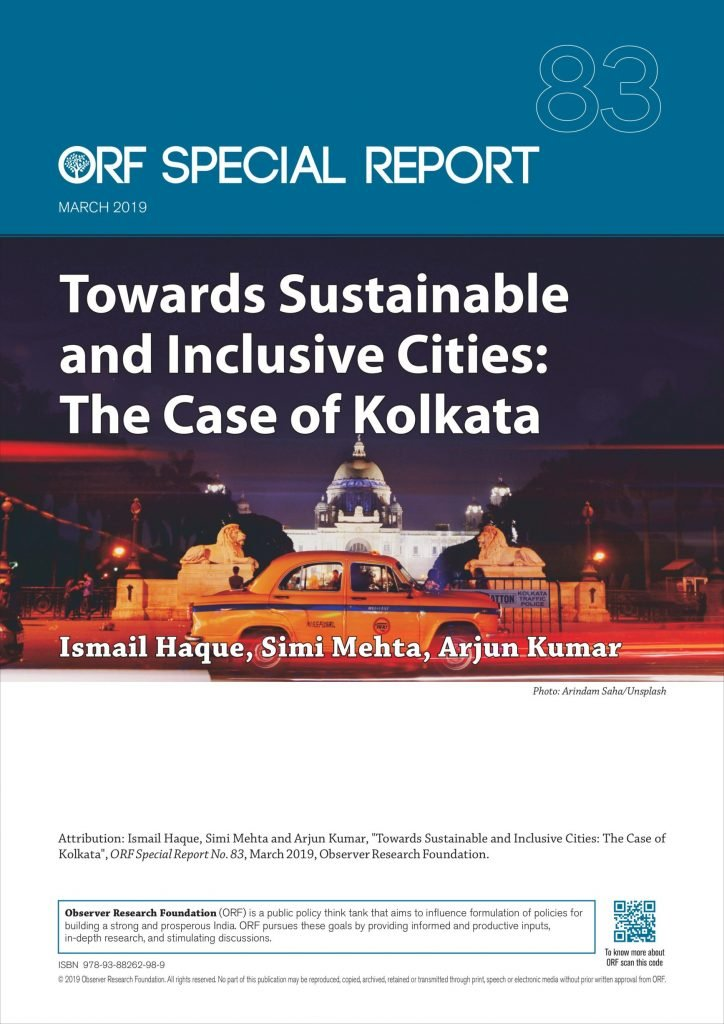 Towards sustainable and inclusive cities: The case of Kolkata