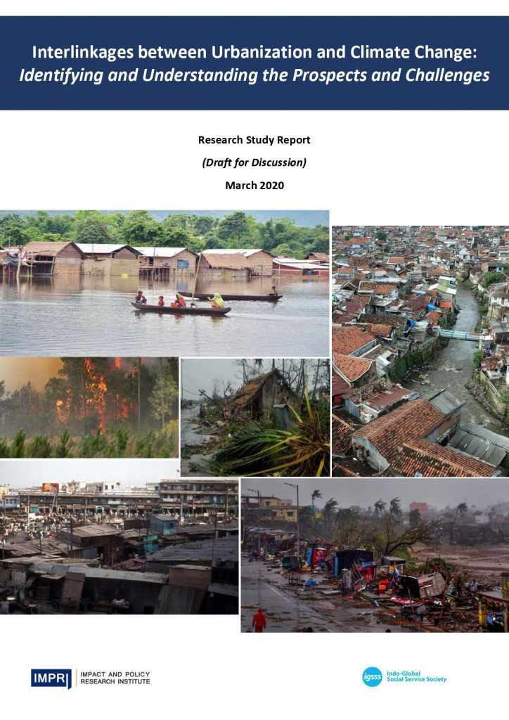 Climate Change and Urbanization