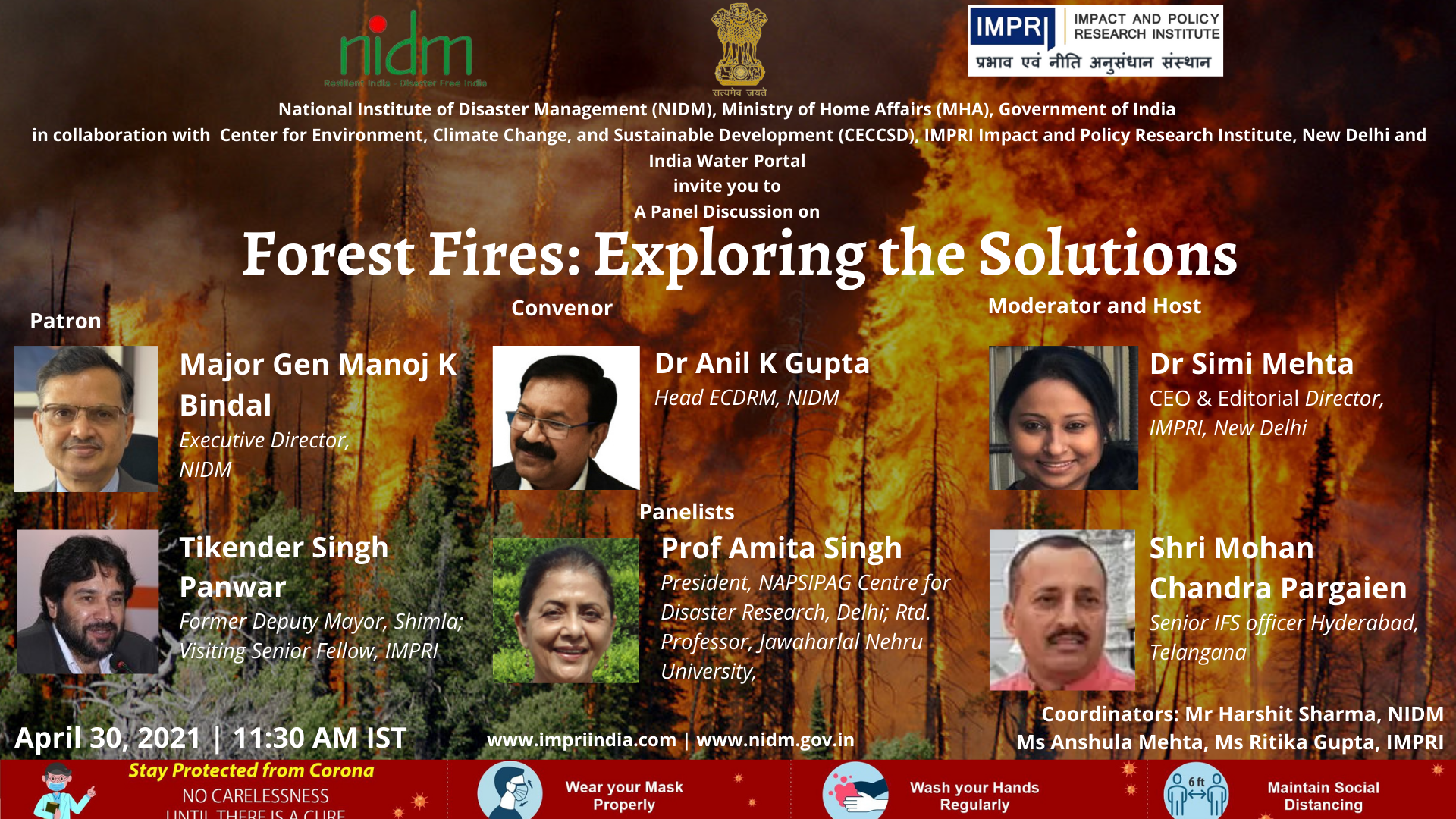 Forest Fires: Exploring the Solutions