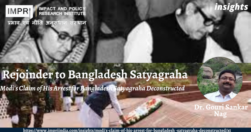Rejoinder to Bangladesh Satyagraha