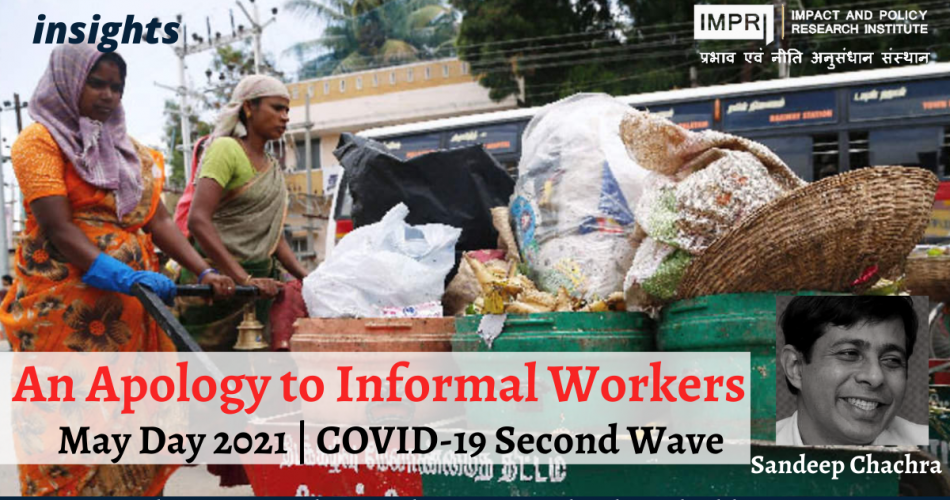 An Apology to Informal Workers