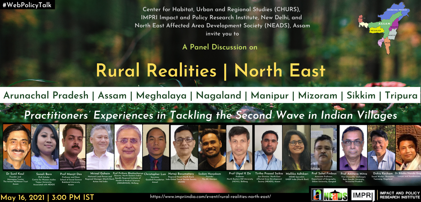 Rural Realities | North East Practitioners' Experiences in Tackling the Second Wave in Indian Villages