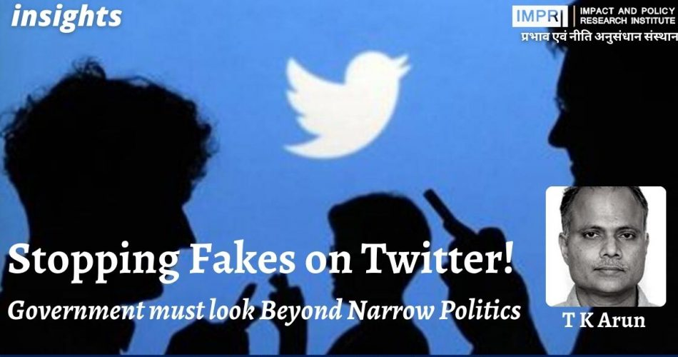 Stopping Fakes on Twitter!