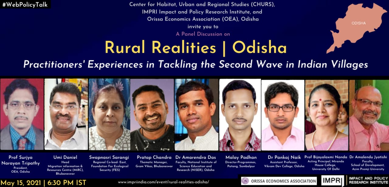 Rural Realities | Odisha Practitioners' Experiences in Tackling the Second Wave in Indian Villages