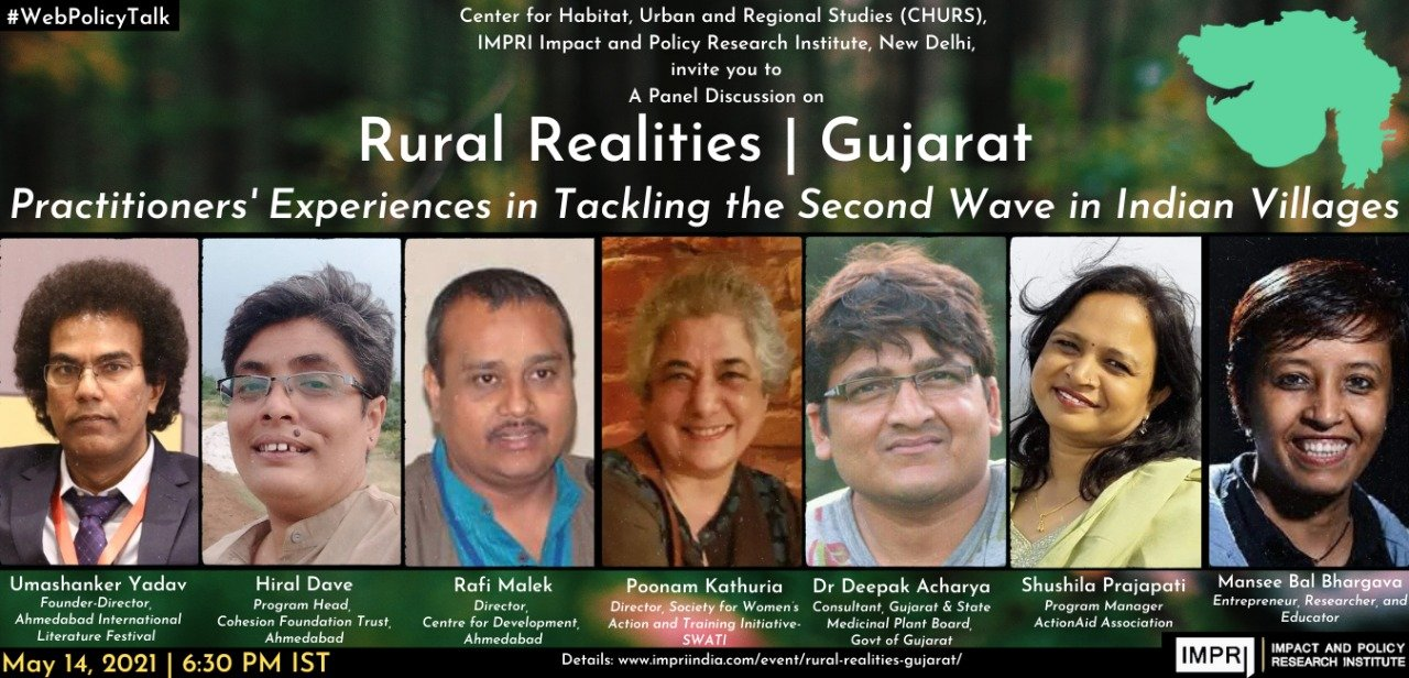Rural Realities | Gujarat Practitioners' Experiences in Tackling the Second Wave in Indian Villages