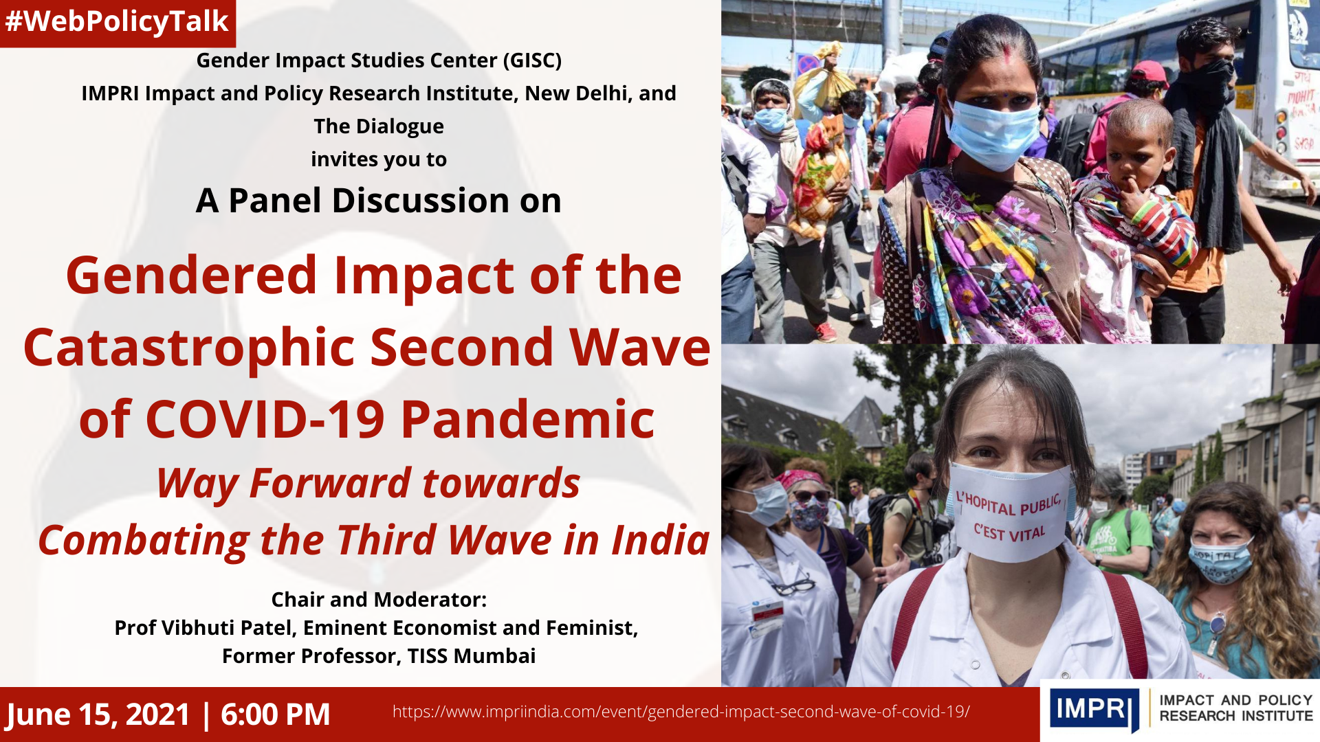 Gendered Impact of the Catastrophic Second Wave of COVID-19 Pandemic: Way Forward towards Combating the Third Wave in India