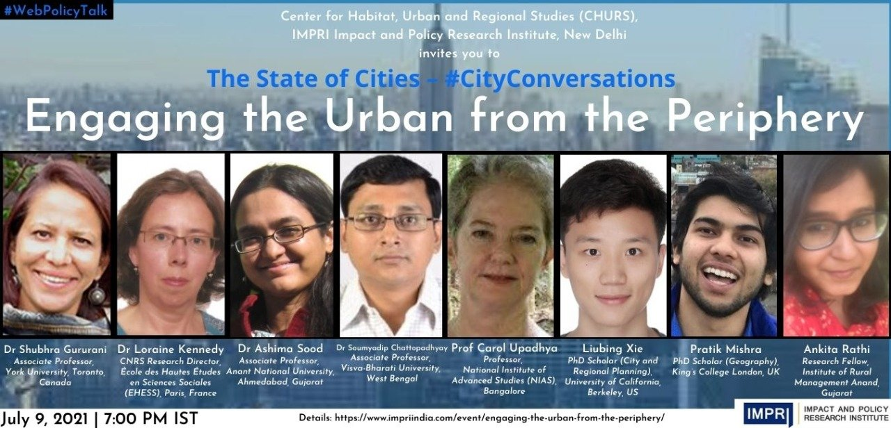 Engaging the Urban from the Periphery