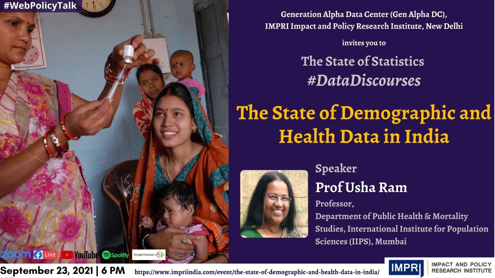 The State of Demographic and Health Data in India