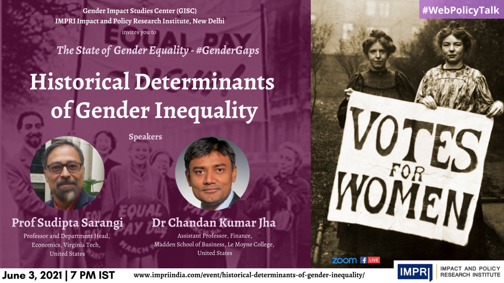 Historical Determinants of Gender Inequality