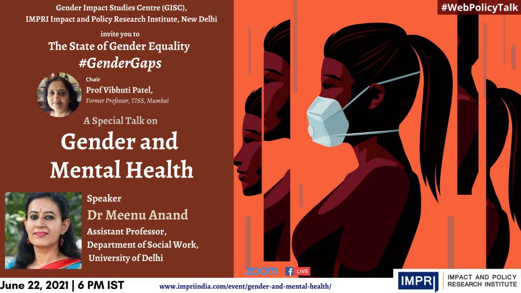 Meenu Anand Gender and Mental Health 2
