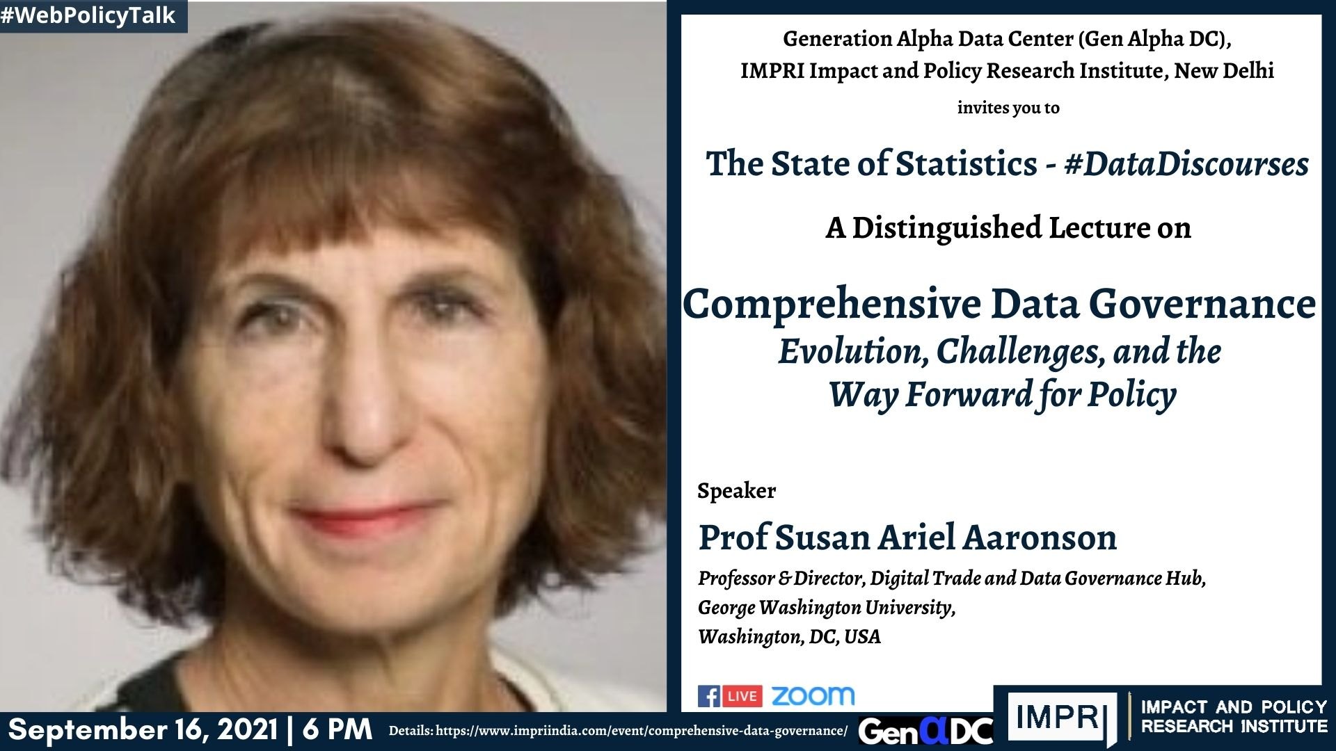 Comprehensive Data Governance: Evolution, Challenges, and the Way Forward for Policy