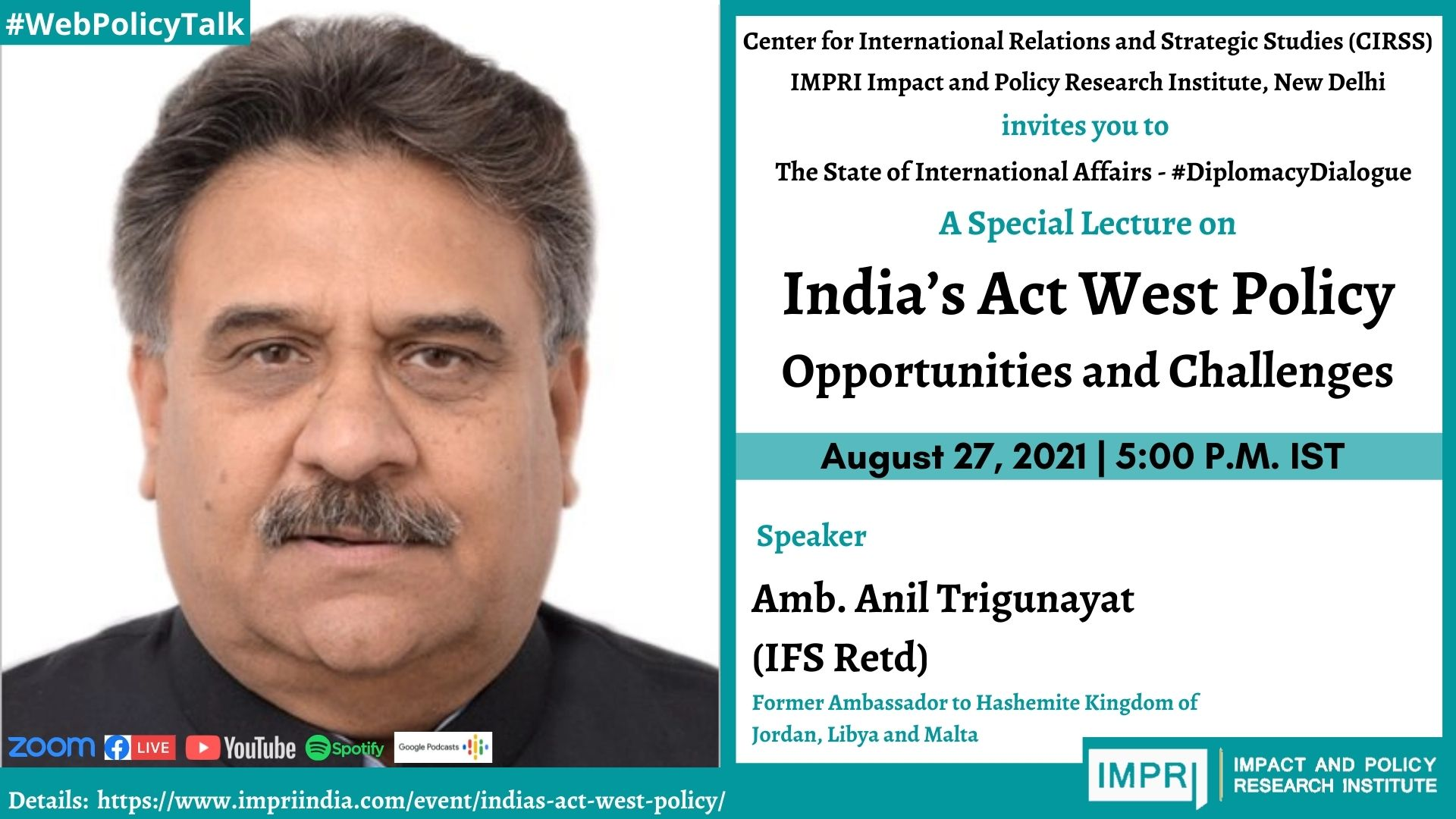 India's Act West Policy: Opportunities and Challenges