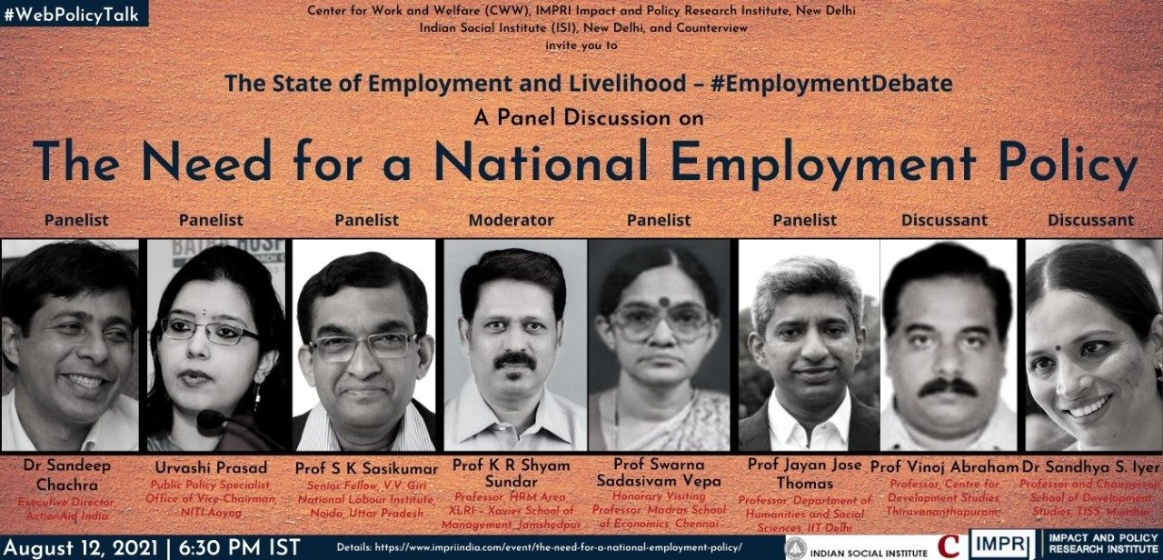 The Need for a National Employment Policy